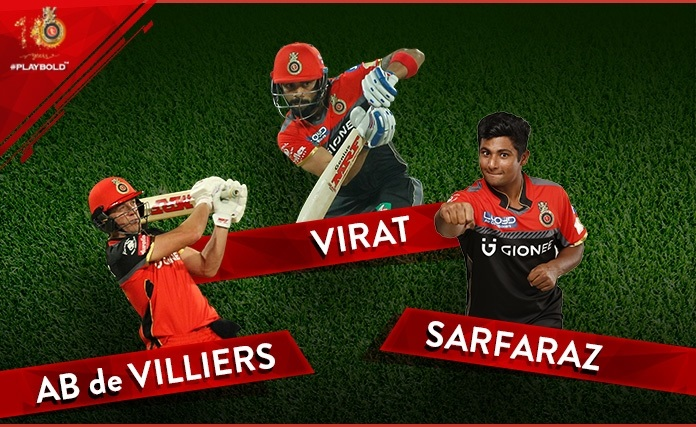 royal challengers bangalore team 2018