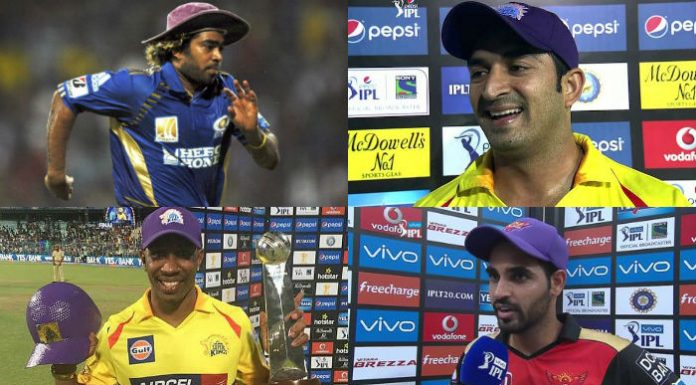 IPL Purple Cap Holders